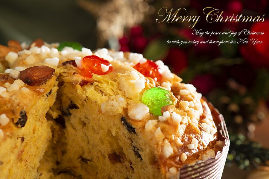 クリスマスプレゼントにも喜ばれるお菓子のようなケーキのような菓子パンです