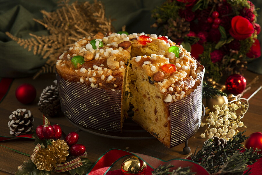 大人数でクリスマスパーティーのクリスマスケーキとしても