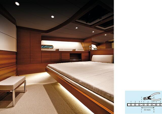 RUBAN LED300 テープライト 5m×50mm LEDキャビンライト 【PLASTIMO】