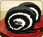 竹炭ロールケーキ