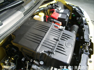 エンジンクリン施工写真6