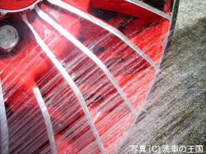 ホイール&タイヤクリン施工写真3