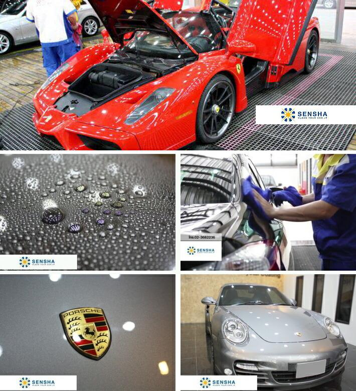 洗車 ガラスコーティング