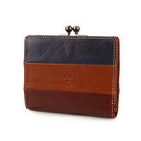 ALBERO(アルベロ)がま口二つ折り財布