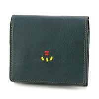 ALBERO(アルベロ) 小銭入れ付き二つ折り財布