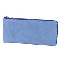 BAGGY PORT(バギーポート) 藍染めレザー 小銭入れ付き長財布(L字ファスナー式) ZYS-091