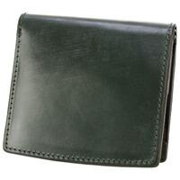 CORBO.(コルボ)-face Bridle Leather G.E.W.- ブライドルレザー シリーズ 小銭入れ付き二つ折り財布 1LD-0239