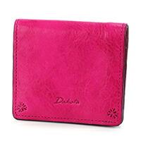 Dakota(ダコタ) バンビーナ 小銭入れ付き二つ折り財布 0036120