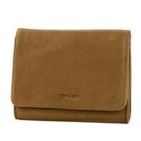 genten(ゲンテン) G soft(Gソフト) 小銭入れ付き二つ折り財布 40705