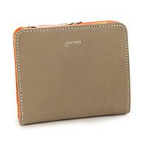 genten(ゲンテン) ピアチェーレ 小銭入れ付き二つ折り財布 42452