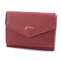 genten(ゲンテン) ピアチェーレ 小銭入れ付き三つ折り財布 42453
