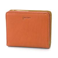 genten(ゲンテン) アッティラーレ 小銭入れ付き二つ折り財布 42602