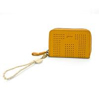 genten(ゲンテン) マルチ 小銭入れ付き財布(ラウンドファスナー式)  42615