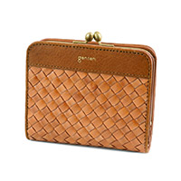 genten(ゲンテン) ラストリコ 小銭入れ付き二つ折り財布 42718