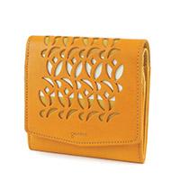 genten(ゲンテン) Tulipano(トゥリパーノ) 小銭入れ付き二つ折り財布  43027