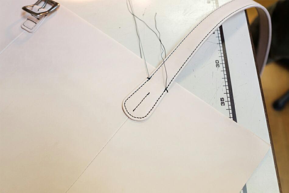 曲線箇所も綺麗に縫い上げます
