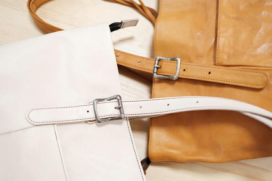 縫製が仕上がったバッグとの比較