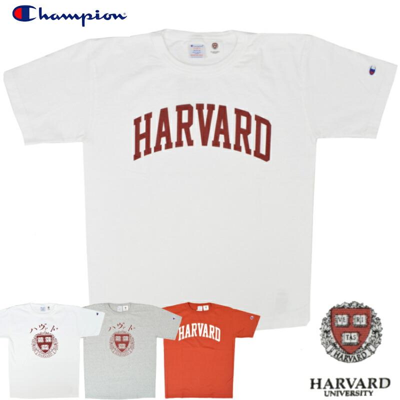 【5/4 UPLOAD】<br>【4 COLOR】CHAMPION(チャンピオン) T1011 S/S COLLEGE PRINT T-SHIRTS(半袖 カレッジプリント Tシャツ) HARVARD(ハーバード)