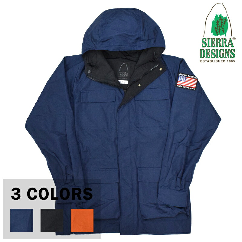 【11/25 UPLOAD】<br>【3 COLORS】SIERRA DESIGNS(シェラデザイン) 【MADE IN USA】 60/40 MOUNTAIN PARKA(アメリカ製 ロクヨンクロス マウンテンパーカー) with USA EMBLEM WAPPEN