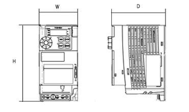 VF-S15シリーズの図面です