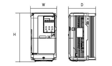 A1000シリーズの図面です
