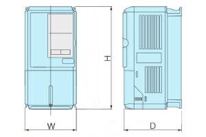 安川電機インバータG7シリーズの図面
