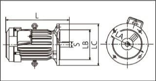 日立モーター図面