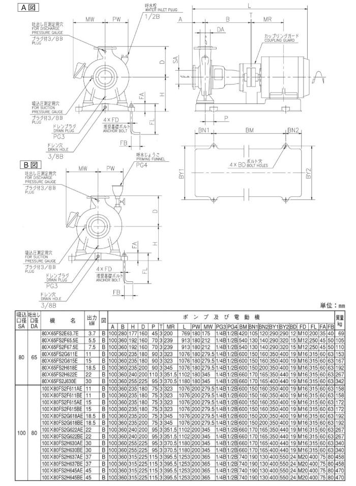 FS型図面
