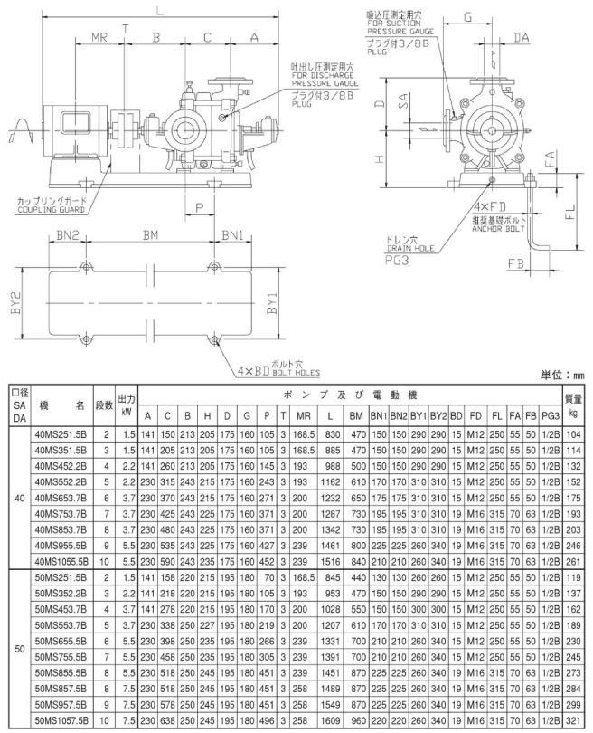 MS型図面