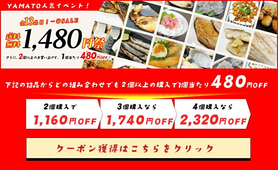 送料無料1480円祭りクーポン