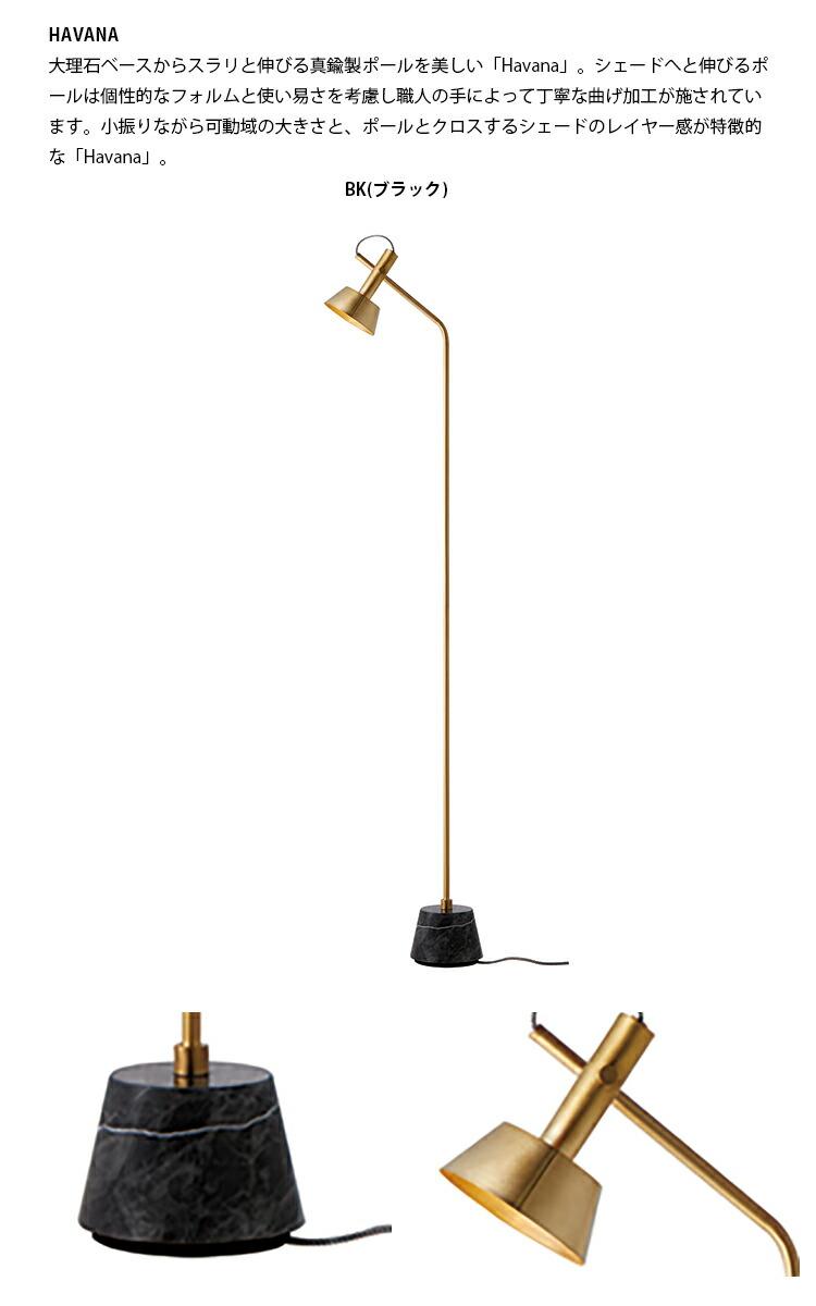 Havana  floor lamp ハバナフロアーランプ LED電球