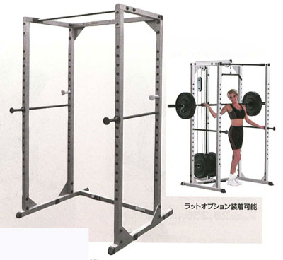 bodysolid (solid a body) power rack GPR-78 (I can put on a rat machine  attachment later)]] | Pectoralis major muscle muscular strength back  brachial