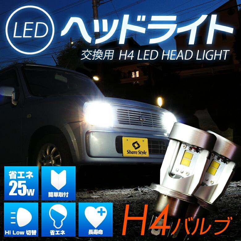 H4ヘッドライトメイン