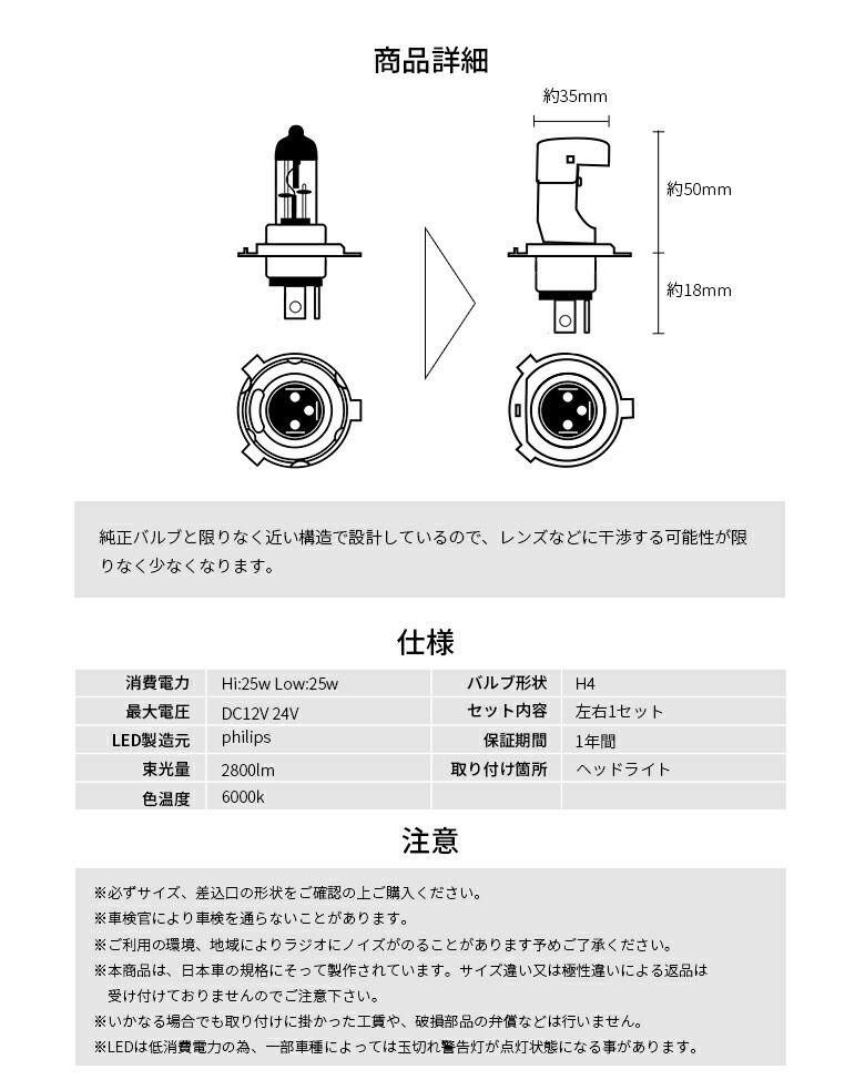 H4ヘッドライト 評価