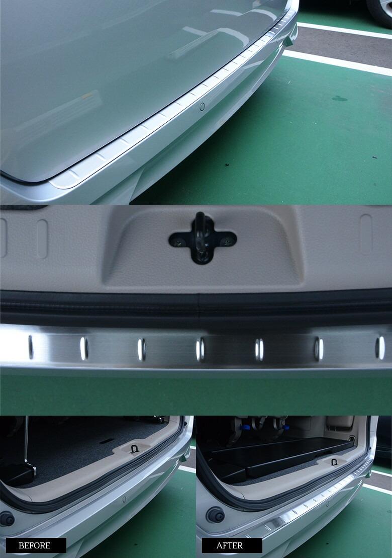 C27セレナ リア ステップバンパーガードB 取り付け画像