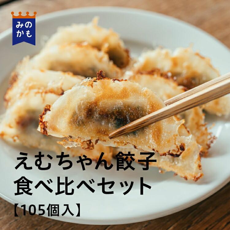 えむちゃん餃子 食べ比べセット(餃子105個入)