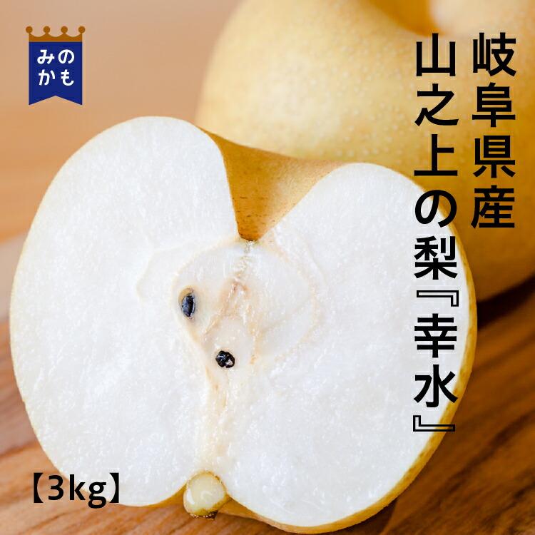梨・幸水3kg