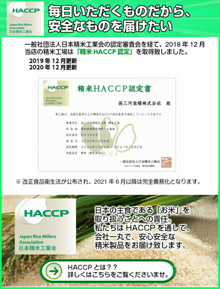 精米HACCP