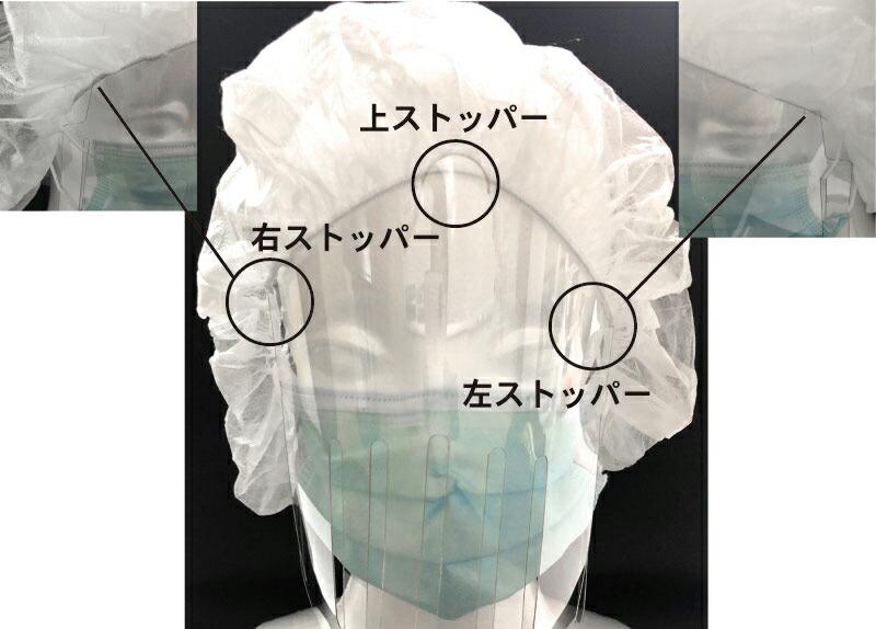 シェリーのフェイスシールド 日本製