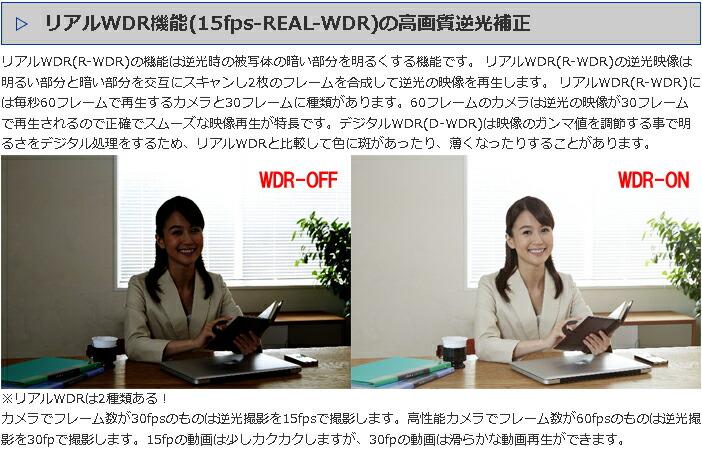 R-WDR 逆光