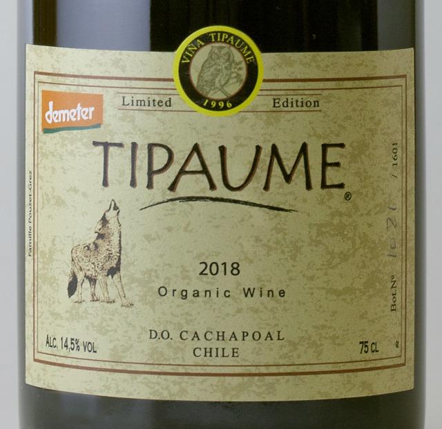 ティパウメ 2018 / TIPAUME 2018