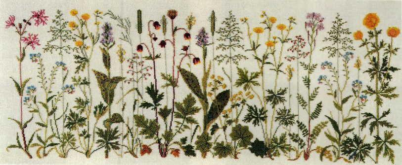 フレメ Prairie flowers 草原の花 12B クロスステッチ キット 刺繍 GB 30-4654 送料無料