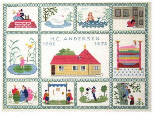 フレメ H.C.ANDERSEN アンデルセン 7B クロスステッチ Haandarbejdets Fremme キット 刺しゅう デンマーク 北欧 IW 30-2336,01