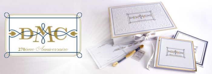 DMC270th Mouline Metallised Gold 24 Carats メタリックゴールドスレッド Limited Edition 全世界17460個限定発売