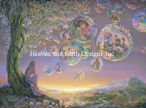 Heaven And Earth Designs(HAED) クロスステッチ刺繍 図案 Supersized The Bubble Tree チャート Michele Sayetta/Josephine Wall スーパーサイズ 全面刺し 上級者 クロスステッチ手芸雑貨シーボンヌ 刺繍 専門店 通販 販売 サイト