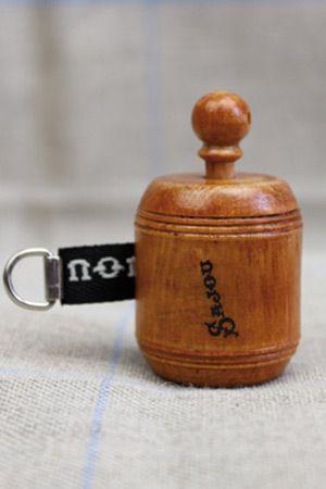 Sajou 手巻き式 木製メジャー Mètre de couturière en bois de charme ruban noir サジュー フランス ノワール  BOIS_MET_R_NOIR