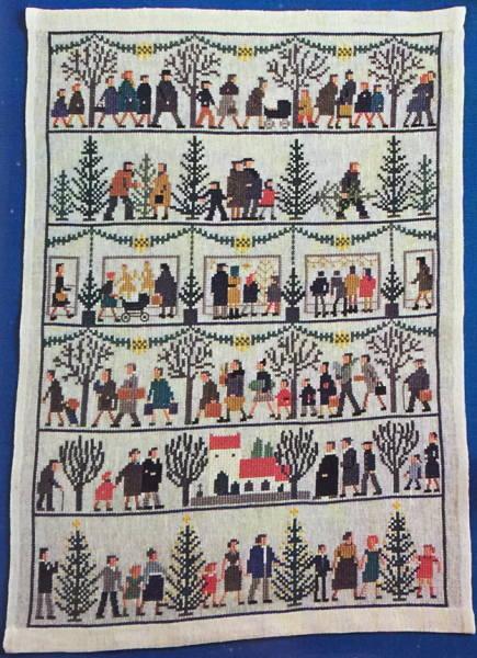 クロスステッチ刺繍キット フレメ Julemotiver クリスマスモチーフ 7B Haandarbejdets Fremme デンマーク 北欧 GB 30-2886 クロスステッチ手芸雑貨シーボンヌ デンマーク刺繍 専門店 通販 販売 サイト