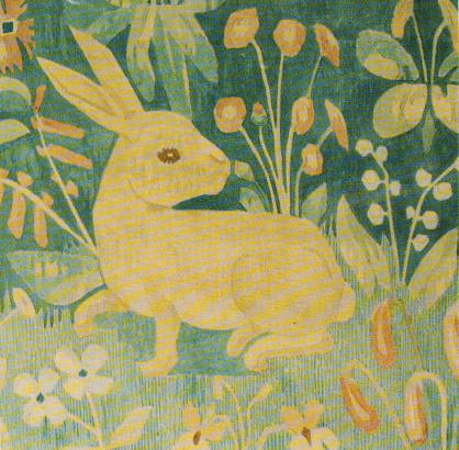 Kaninpude uldgarm