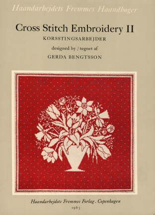 GERDA BENGTSSON Cross Stitch Embroidery II