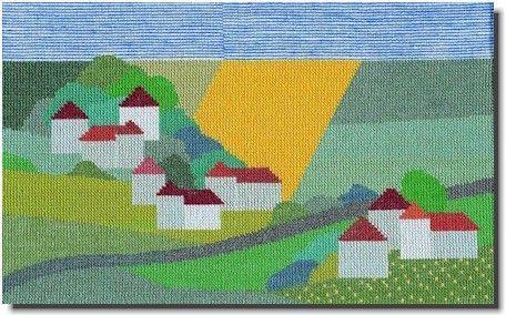 BAHMANN バーマン Nordische Landschaft 北欧の風景 12B クロスステッチ キット ドイツ 刺しゅう 30-9068